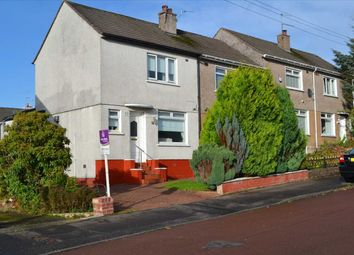 Thumbnail 2 bed end terrace house for sale in Tiverton Avenue, Mount Vernon, Glasgow