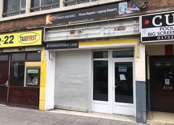 Thumbnail Retail premises to let in 4 Union Street, Plymouth, Devon