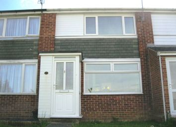 Thumbnail 2 bed terraced house to rent in Carew Walk, Rugby, Warwickshire
