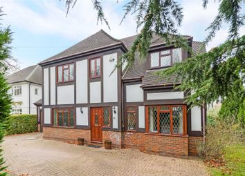 Thumbnail 5 bed detached house for sale in Grove Way, Esher, Surrey