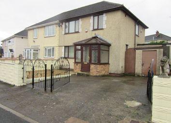Thumbnail 3 bedroom semi-detached house to rent in Torrington Road, Gendros, Swansea.