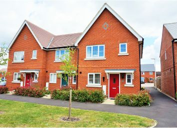 Thumbnail 3 bedroom end terrace house for sale in Caribou Walk, Three Mile Cross Reading