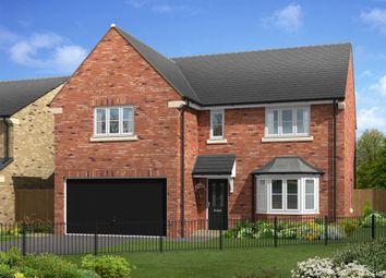 "Thumbnail 4 bed detached house for sale in ""The Hayton"" at White Mill Drive, Pocklington, York"