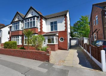 Thumbnail 3 bed semi-detached house for sale in Curzon Road, Offerton, Stockport