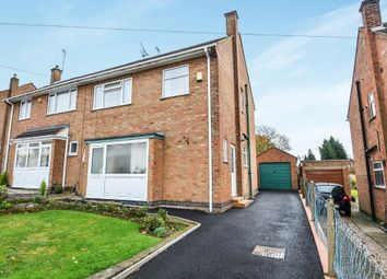 Thumbnail 3 bed semi-detached house for sale in Ratliffe Road, Shakespeare Gardens, Rugby