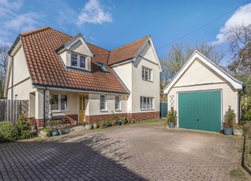 Thumbnail 4 bed detached house for sale in Constable Close, Brockford, Stowmarket