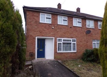 Thumbnail 3 bed terraced house for sale in Fullelove Road, Brownhills, Walsall