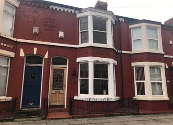 Thumbnail 3 bed terraced house for sale in 105 Ashbourne Road, Aigburth, Liverpool
