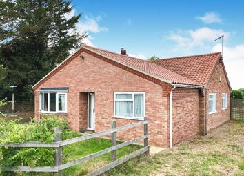 Thumbnail 3 bed detached bungalow for sale in Beccles Road, Bungay