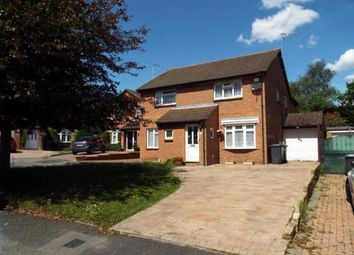 Thumbnail 3 bed semi-detached house for sale in Leygreen Close, Luton, Bedfordshire
