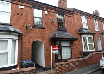 Thumbnail 3 bed terraced house for sale in Windmill Street, Wednesbury