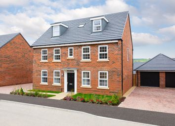 "Thumbnail 5 bed detached house for sale in ""Buckingham"" at Whites Lane, New Duston, Northampton"
