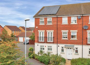 Thumbnail 3 bed town house for sale in Bradley Drive, Grantham