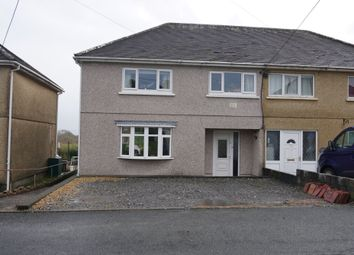 Thumbnail 3 bed semi-detached house for sale in Bryndedwyddfa, Penygroes, Llanelli