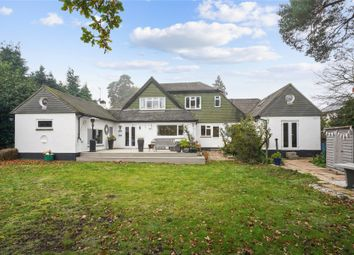 Thumbnail 3 bed detached house for sale in Cleves Wood, Weybridge, Surrey