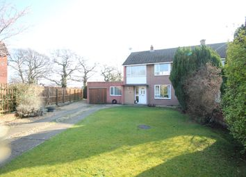 Thumbnail 3 bed semi-detached house for sale in Cross Grove, Wigton