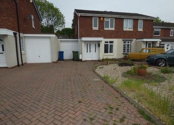 Thumbnail 2 bed semi-detached house for sale in Cobia, Two Gates, Tamworth
