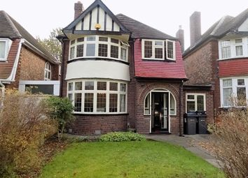 Thumbnail 3 bed detached house for sale in Romilly Avenue, Handsworth Wood, Birmingham
