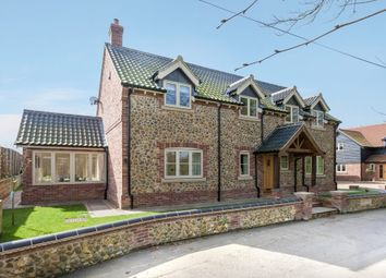 Thumbnail 4 bed detached house for sale in Farm View, Holme Hale, Thetford