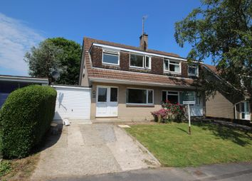Thumbnail 3 bed semi-detached house for sale in Julian Road, Ivybridge