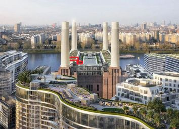 Thumbnail 3 bed flat for sale in Boiler House Square, Battersea Power Station, Nine Elms, London