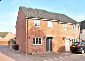 Thumbnail 3 bed semi-detached house for sale in Flitch Green, Dunmow, Essex