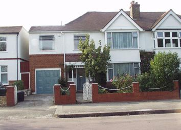 Thumbnail 4 bed semi-detached house to rent in Lowther Road, London