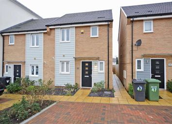 Thumbnail 2 bed end terrace house for sale in Waterside Road, Wellingborough