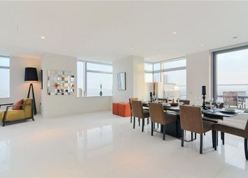 Thumbnail 3 bed flat for sale in Pan Peninsula Square, South Quay, London