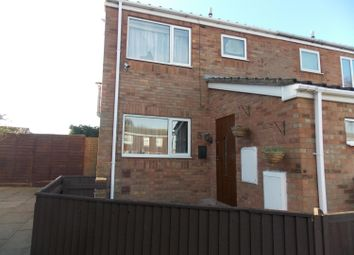 Thumbnail 3 bed end terrace house for sale in Perkins Close, Grimsby