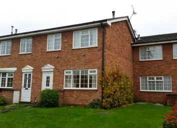 Thumbnail 3 bed end terrace house to rent in Scaife Road, Nantwich