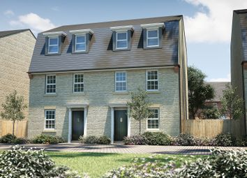 "Thumbnail 4 bed semi-detached house for sale in ""The Cleeve"" at North End Road, Yatton, Bristol"