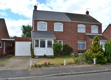 Thumbnail 3 bed semi-detached house for sale in Croft Close, Starston, Harleston