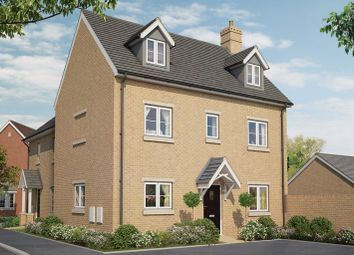 Thumbnail 5 bed semi-detached house for sale in New Cardington, Condor Boulevard, Bedford