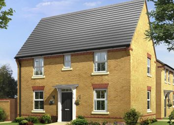 "Thumbnail 3 bed detached house for sale in ""Hadley"" at Stevens Court, Wellingborough Road, Earls Barton, Northampton"