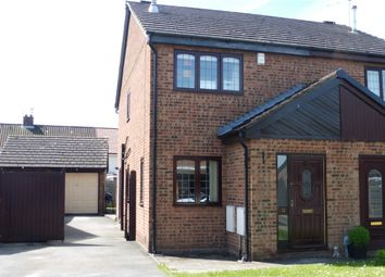 Thumbnail 2 bed semi-detached house for sale in King Charles Close, Willerby, Hull