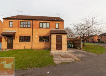 Thumbnail 3 bed semi-detached house for sale in Meden Way, Retford