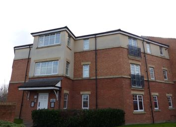 Thumbnail 2 bed flat for sale in Redgrave Close, Gateshead
