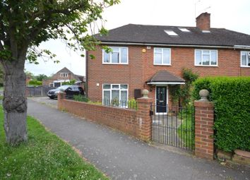 Thumbnail 5 bed semi-detached house for sale in Well Way, Epsom