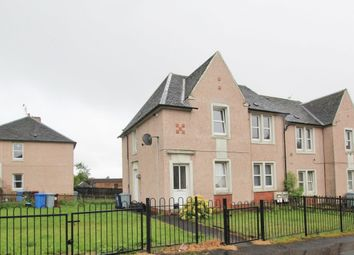 Thumbnail 2 bed flat for sale in Miller Street, Carluke