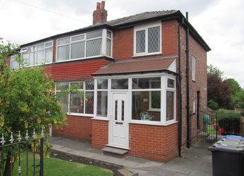 Thumbnail 3 bed semi-detached house to rent in Heywood Road, Prestwich, Manchester