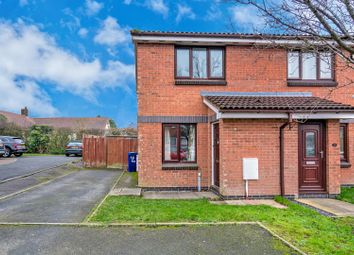 Thumbnail 2 bedroom semi-detached house to rent in Evergreen Heights, Hednesford, Cannock