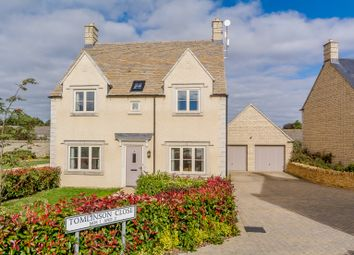 Thumbnail 4 bed detached house for sale in Tomlinson Close, Fairford