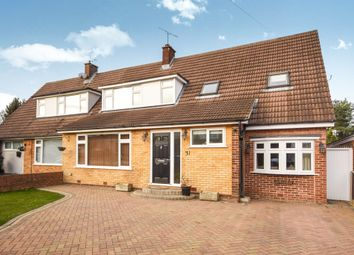 Thumbnail 4 bed semi-detached house for sale in Middle Green, Doddinghurst, Brentwood
