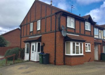 Thumbnail 1 bed town house to rent in Harebell Close, Walsall