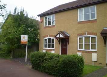 Thumbnail 2 bed end terrace house to rent in Bantock Close, Browns Wood, Milton Keynes