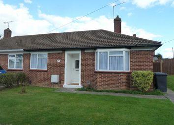 Thumbnail 2 bedroom semi-detached bungalow to rent in Cardinal Avenue, Borehamwood, Herts