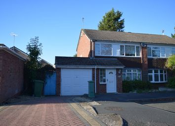 Thumbnail 3 bed semi-detached house to rent in Caynham Close, Redditch