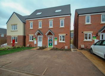 Thumbnail 3 bed semi-detached house for sale in Off Shelton New Road, Basford, Stoke-On-Trent