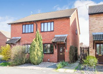 Thumbnail 2 bedroom semi-detached house for sale in Peachey Drive, Thatcham
